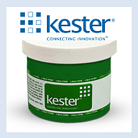 Production line - Kester solder paste