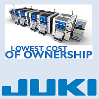 Production line - Juki SMT placement systems