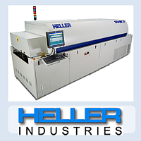 Production line - Heller reflow ovens