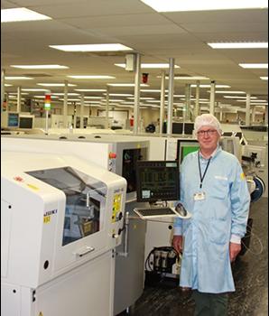 Belgian high-end automotive supplier C-MAC relies on JUKI screen printer