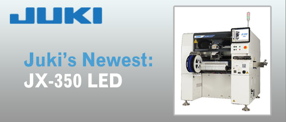 Juki Introduces the JX-350 LED Long Board Machine 1.5m