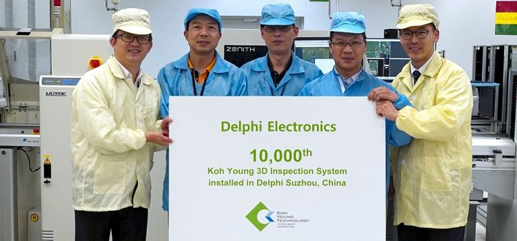 Koh Young Technology Celebrates Delivery of 10,000th Inspection System