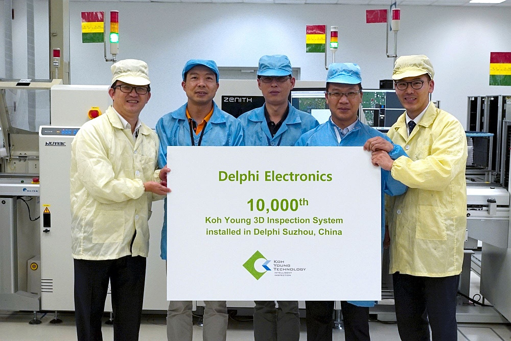 Koh Young delivers the 10.000th inspeciton system