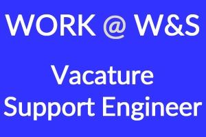 Wij zoeken een teamgenoot voor de functie van support engineer