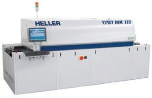 Heller 1707 compact high flexibility reflow oven
