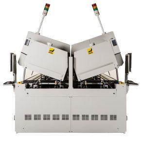 Heller dual lane gull-wing (GW) reflow oven