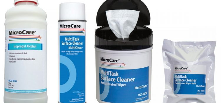 Microcare - Cleaning with IPA