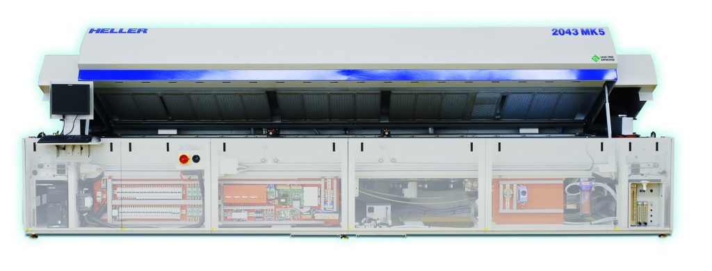 Heller 2043 reflow oven